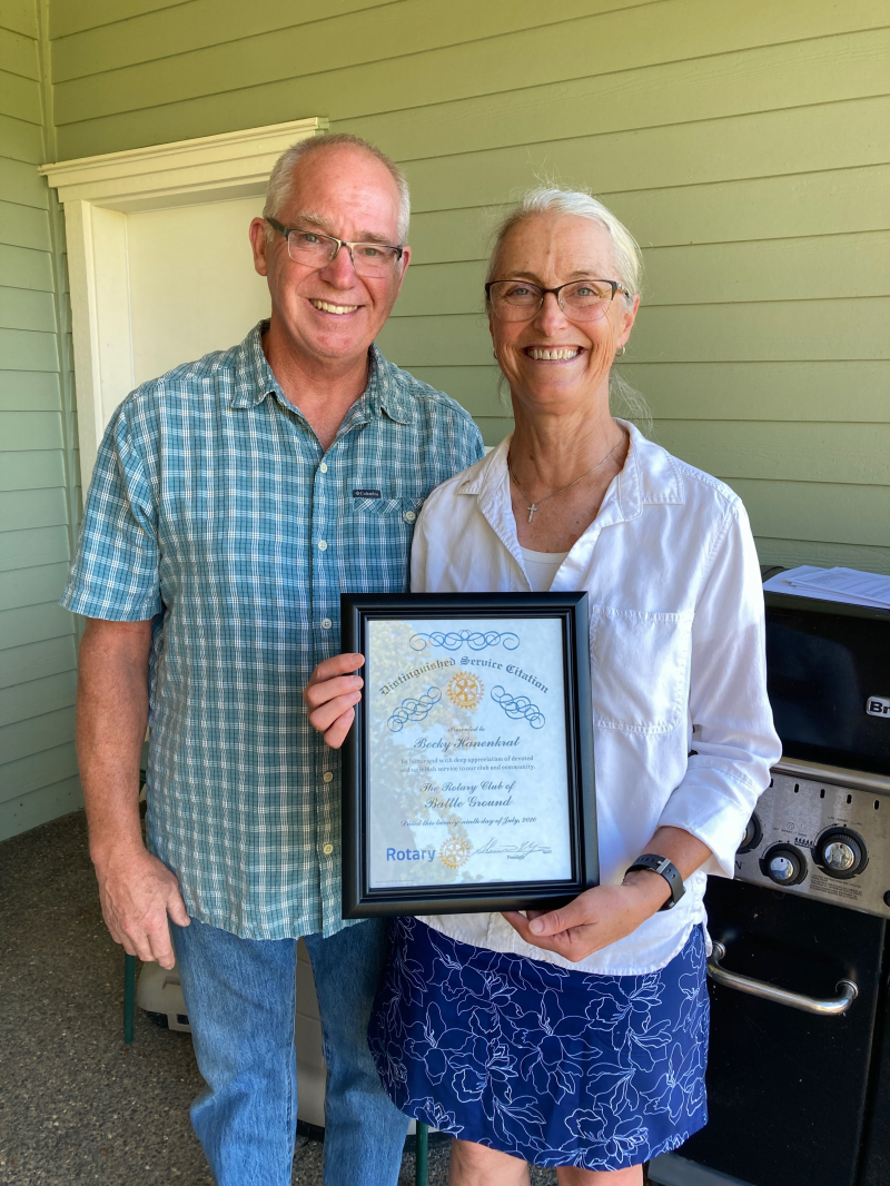 Becky Hanenkrat receives Distinguished Service Citation for 2019-20