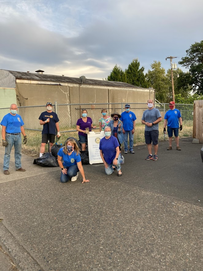Main Street Cleanup 8-19-20 - The