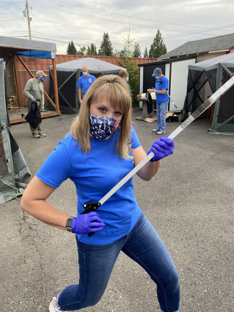 Main Street Cleanup 8-19-20 - Amy Price, Cleanup NINJA!!!