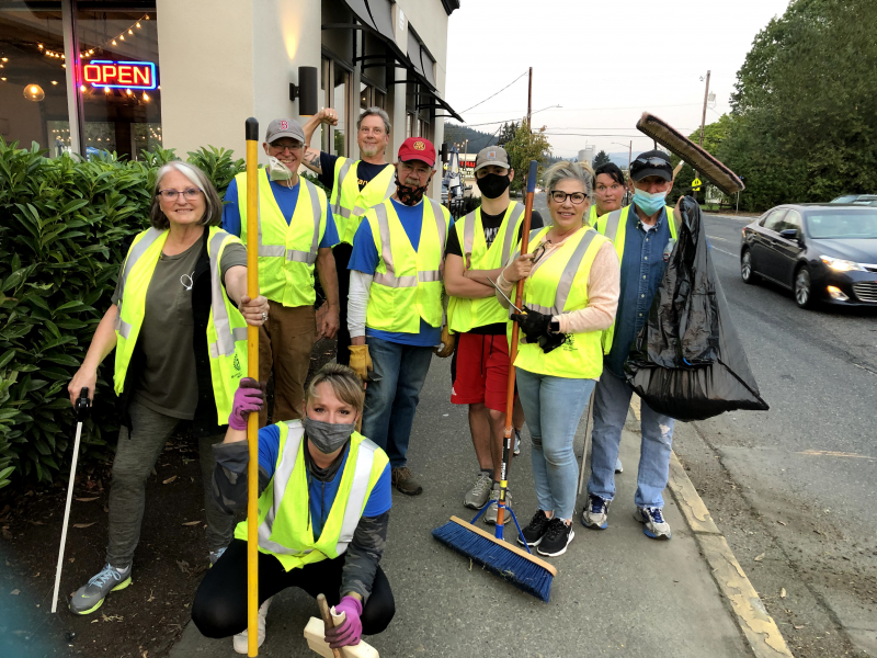 Main Street Cleanup 10-7-20